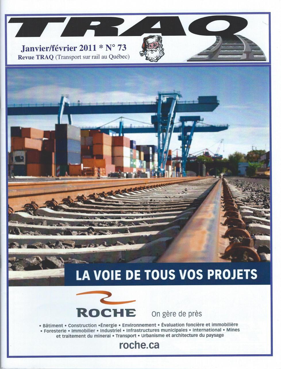 Rail Québec #073 - Janvier / Février - 2011