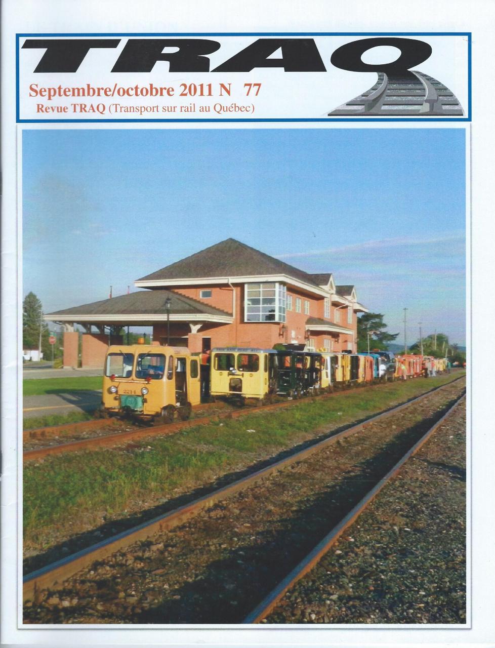 Rail Québec #077 - Septembre / Octobre - 2011