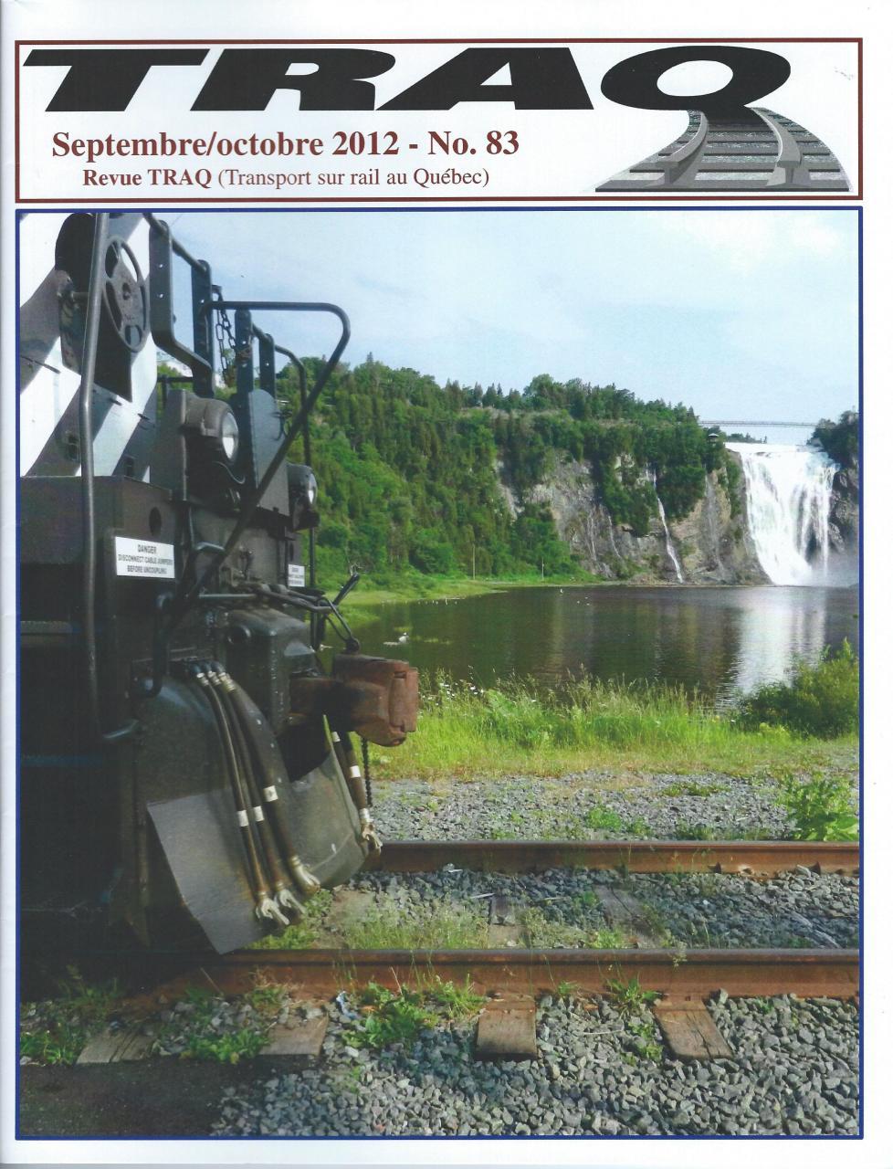 Rail Québec #083 - Septembre / Octobre - 2012