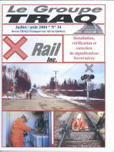 Rail Québec #034 juillet / août 2004