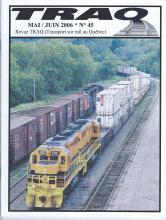 Rail Québec #045 - Mai / Juin - 2006