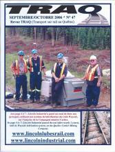 Rail Québec #047 Septembre / Octobre 2006