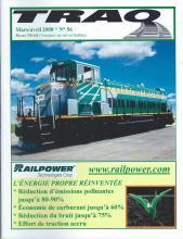 Rail Québec #056 - Mars / Avril - 2008