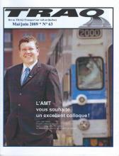 Rail Québec #063 - Mai / Juin - 2009