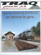 Rail Québec #088 - Juillet / Août - 2013