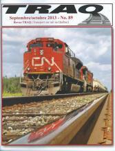 Rail Québec #089 - Septembre / Octobre - 2013