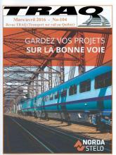 Rail Québec #104 mars / avril 2016