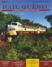 Rail Québec #113 septembre / octobre 2017