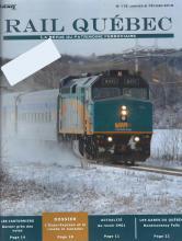 Rail Québec #115 janvier / février 2018