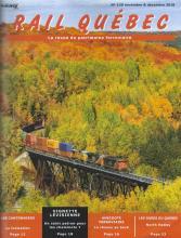Rail Québec #120 novembre / décembre 2018